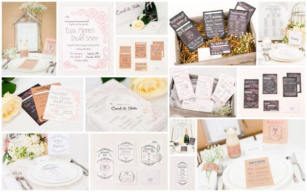 Coral & Slate Products, Coral & Slate, Bespoke prints, Wedding Stationery, Signage