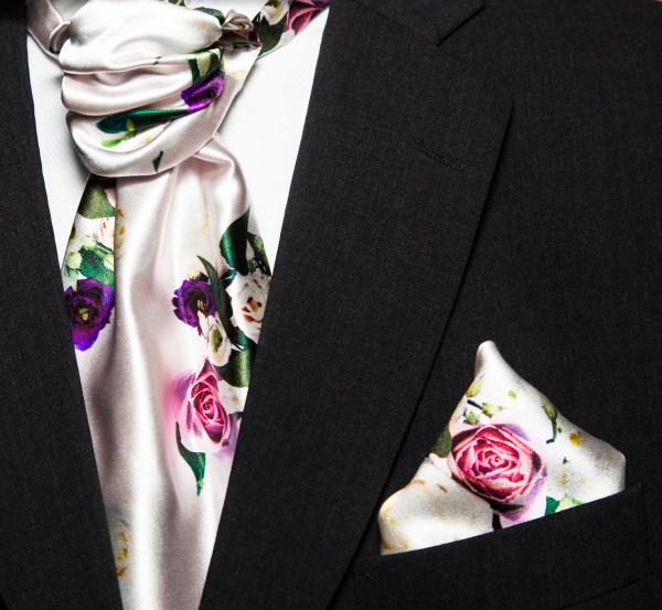 floral inspired textiles, floral print, kanda images, printed fabrics, Cravat, pocket square, kanda images, wedding accessories, MrsPandPs Sunday Morning Cuppa, Wedding Blog, Blog Catch up