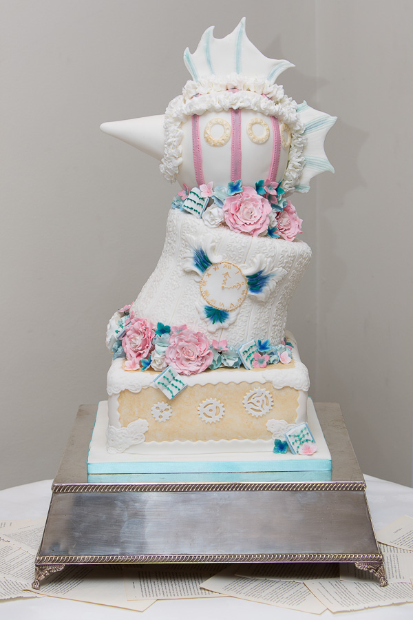 One events, steampunk cake, cakesbyHeather, HayleyRuth-Photography