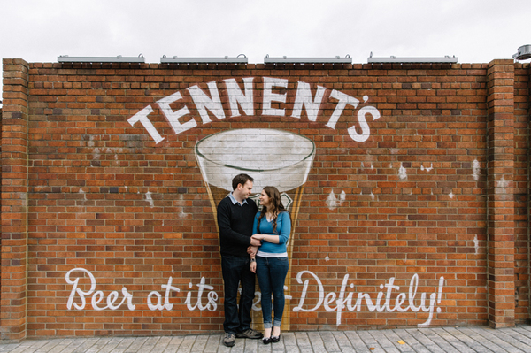 Tennents factory glasgow, glasgow engagement shoot, warwickshire wedding photographer, These images were taken by www.christinemcnally.co.uk and are subject to copyright (2014). Please contact the photographer for usage information/permission.