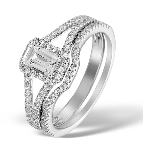 bridal sets, wedding ring, engagement ring , the diamond store