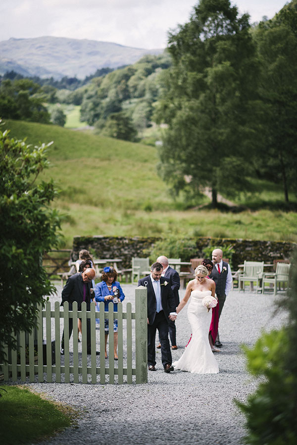 Cote-How-lake-district-wedding-intimate wedding-pronovias-wedding-dress-charlotte-mills-shoes (30)