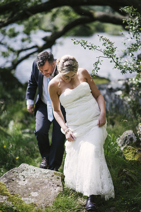 Cote-How-lake-district-wedding-intimate wedding-pronovias-wedding-dress-charlotte-mills-shoes (38)