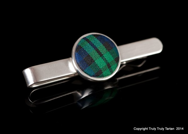 Truly Truly Tartan, tie pin, image - The studio BOW