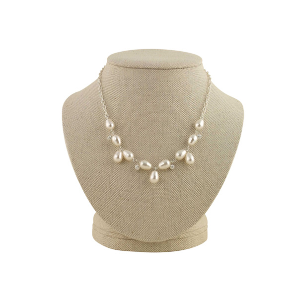 Vivienne-necklace, petite margaux, bridal jewellery, wedding jewellery, occasion jewellery