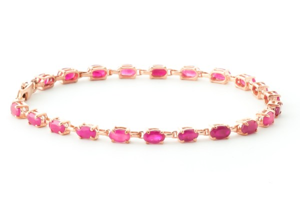 QP Jewllers , gold-8-0ct-ruby-infinite-tennis-bracelet, bridesmaids, bridal party jewellery
