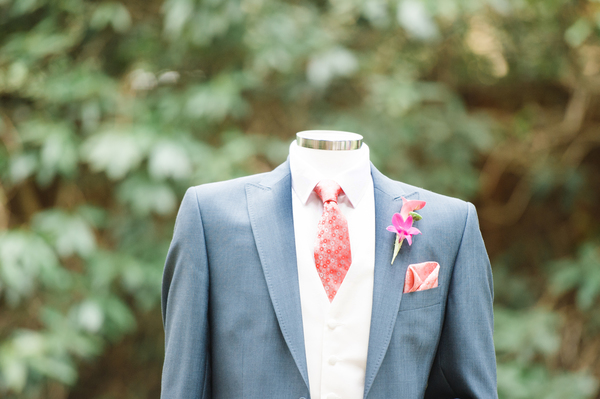 suit - stress 3 hire, tropical wedding, tropical wedding styled shoot, stoke place, hannah mcclue photo