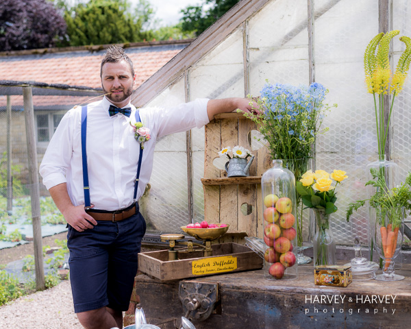country garden wedding, Harvey & Harvey Photography , Irnham Hall