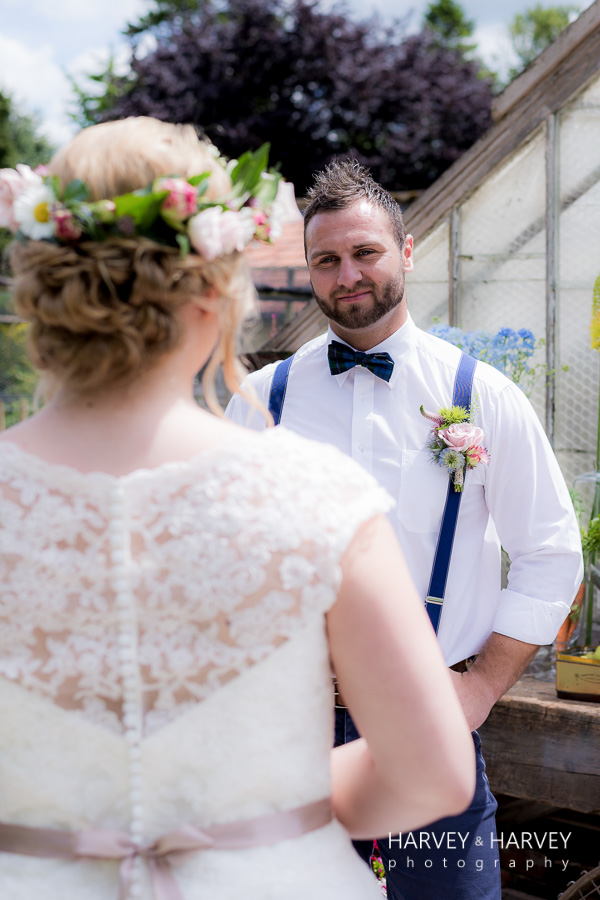 country garden wedding , Harvey & Harvey Photography Irnham Hall