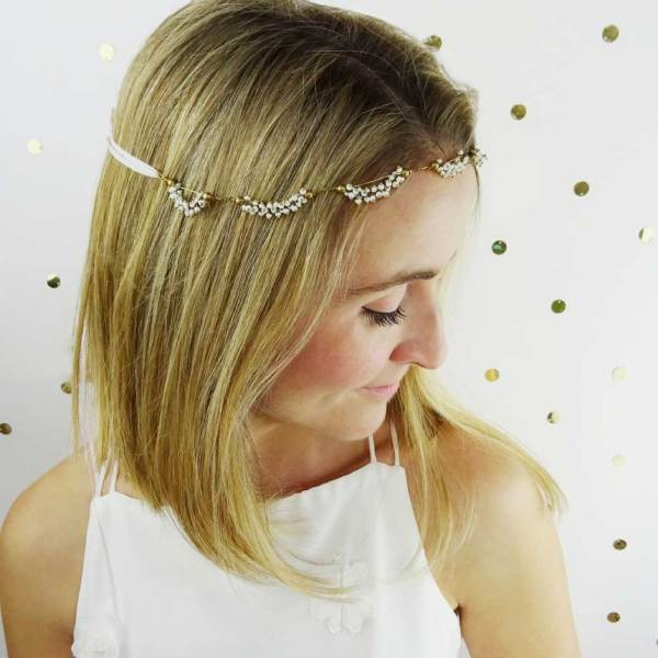 Willow-Tiny-Beaded-Bandeau, Fifth-and-Spring, headpieces, bridal headpieces, bridal accessories