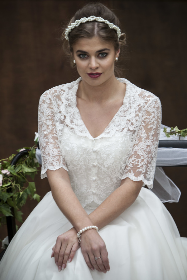 Georgiana front - Qiana Bridal, Regal Splendour Collection, 2017 collection, kate everall photo