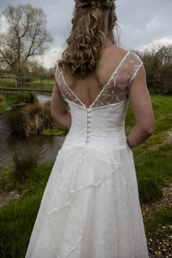 Kate back - Qiana Bridal, Regal Splendour Collection, 2017 collection, kate everall photo