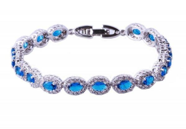 crystal-wedding-bracelets, simulated-diamond-bracelet, santorini collection, olivier laudus