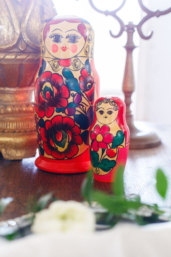 la candella weddings, russian inspired wedding, http://lacandellaweddings.pass.us/russian-wedding, matryoshka doll