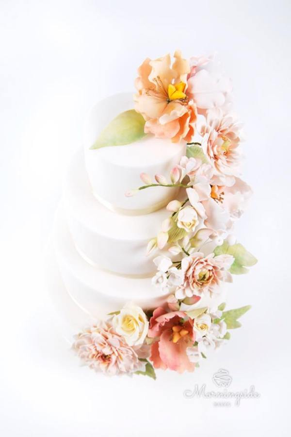 morningside bakes, mhairi alexander photo, wedding cake, celebration cake