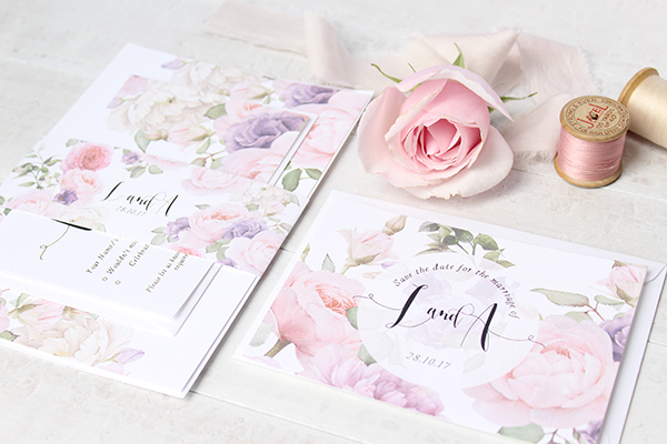Summer Garden, paper goods, wedding stationery, greetings cards, Belo Paperie