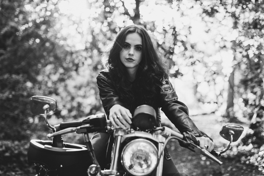 Harley Davidson Couples shoot, Xander Sandwell Photography