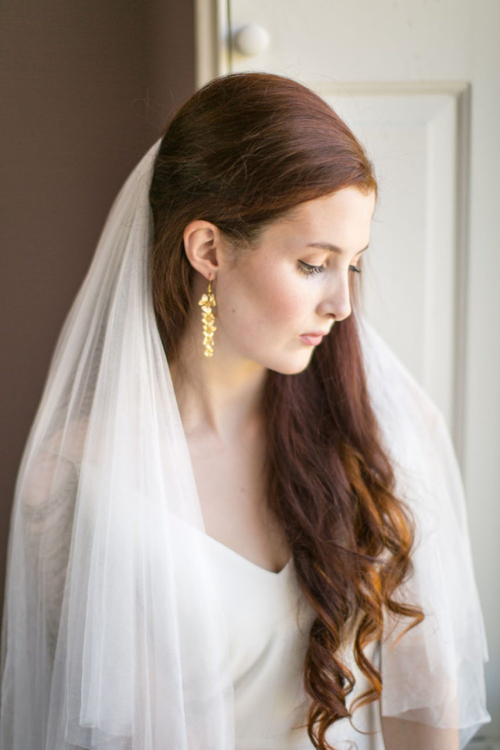 victoria-millesime, gold-dust-orchid-bridal-earrings, Image by Anneli Marinovich