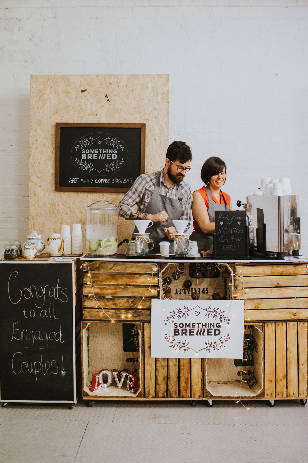 Glasgow Wedding Collective , wedding-fair-glasgow , image - the Curries, Something brewed, Brew Bar, speciality coffee, speciality tea