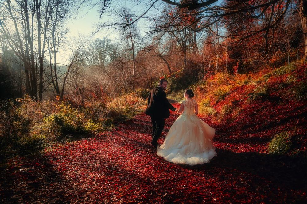 moon-rabbit-wedding-photography-autumnal-post-wedding-shoot-roslin-glen-16
