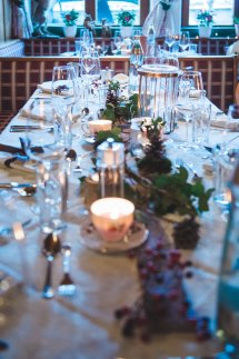 Pretty Austrian Wedding With Winter Forest Styling - Uk
