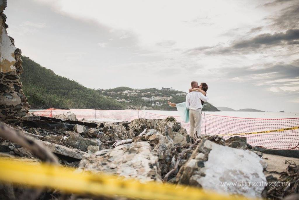 Virgin Islands Engagement Shoot , STJ Creative Photography, Hurricane Irma