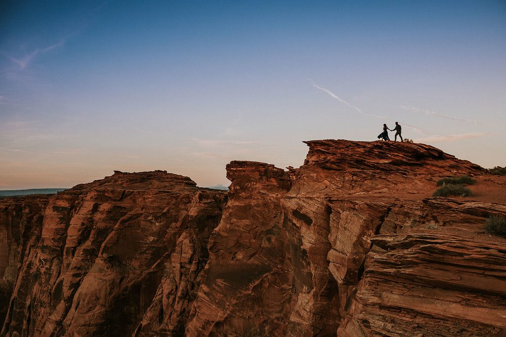 Antelope Canyon Engagement shoot - Cary Nash Photography