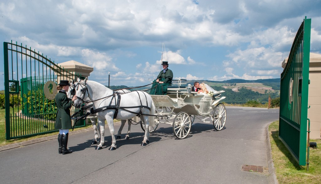 Renfrewshire Wedding Venue ~ The Ingliston Country Club - Horse and Carriage