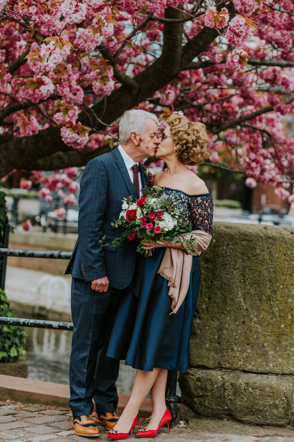 colourful Manchester Wedding
