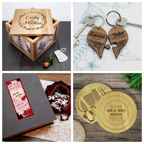 Amazing Personalised Gifts for Weddings and Lifes Events from I Just Love It