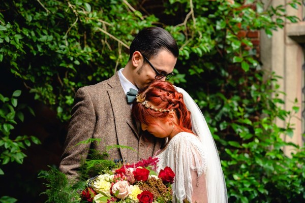 A magical fantasy Shropshire Wedding with Tolkien, Halloween and medieval elements