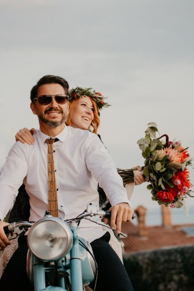 Colourful Bohemian Wedding Inspiration capturing the essence of the Free spirited couple