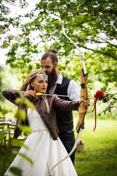Fiercely beautiful, adventurous and untamed Viking Wedding Inspiration