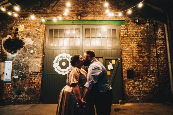 A quirky Manchester wedding where beautiful black and gold met urban chic