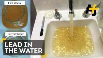 Flint, Michigan, contaminated water