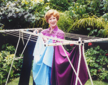 The History of Mrs Peggs  Mrs Peggs Handy Line Clotheslines
