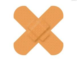 crossed-adhesive-plaster