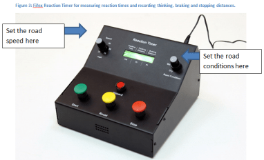 reaction timer