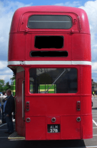 Mrs Physics has been likened to the back end of a bus, personally she things you can't beat a routemaster for design.