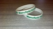 White & Greeen Wristbands