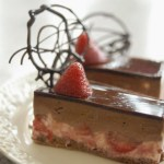 Chocolate and Strawberry Mousse Cake 巧克力草莓慕絲蛋糕