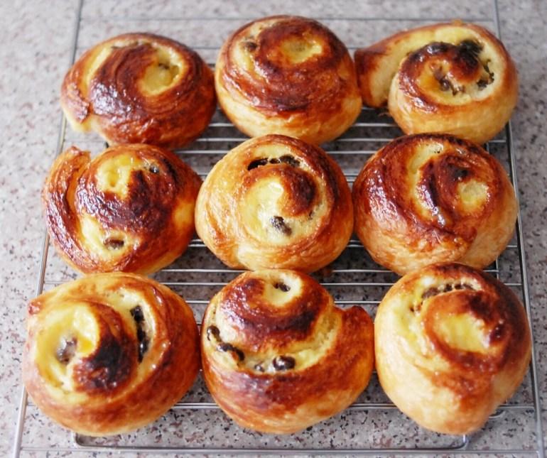 Cinnamon Raisin Danish Pastries