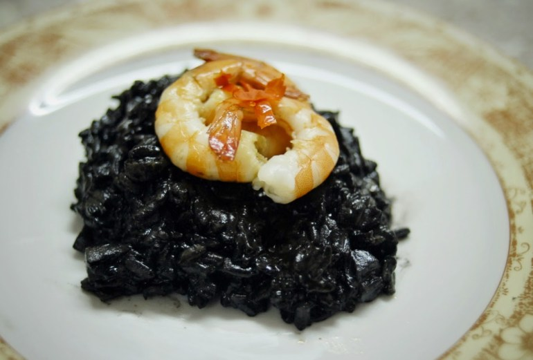 Recipe - Squid Ink Risotto