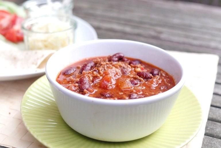 Recipe-Chilli con Carne