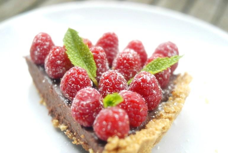 Recipe - No Bake Chocolate Ganache Tart