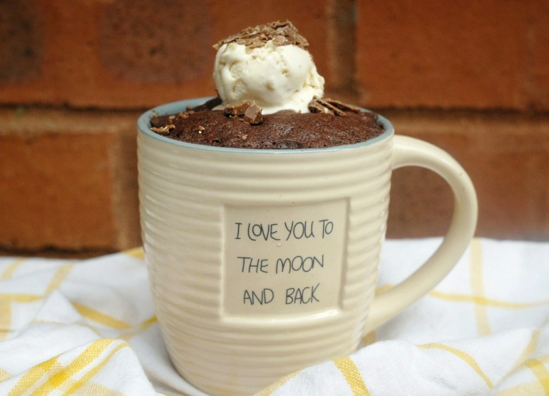 Microwave Recipe -Chocolate Mug Cake