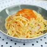 Ham and Kimchi Spaghetti 火腿泡菜忌廉意粉