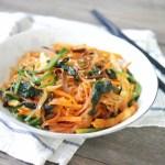 Korean Stir-fried Glass Noodles 韓式炒粉絲