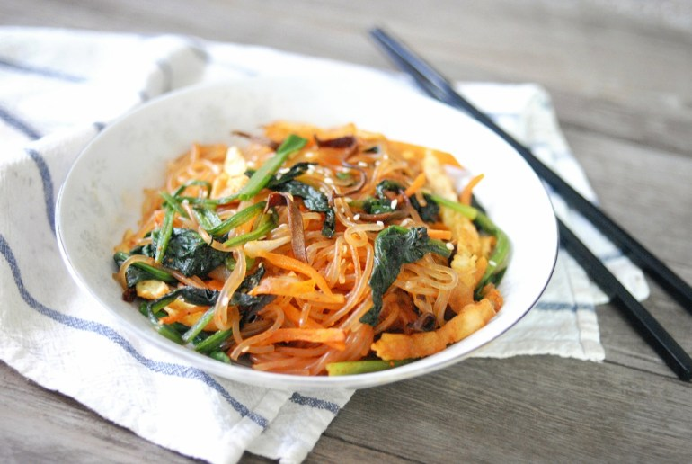 Korean Stir-fried Glass Noodles
