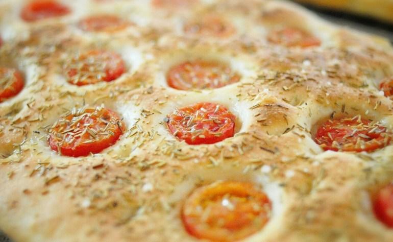 Recipe - Cherry Tomato Focaccia